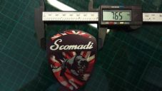 Scomadi Logo Badge UNION JACK Printed Decal Sticker innocenti mod nos vinyl